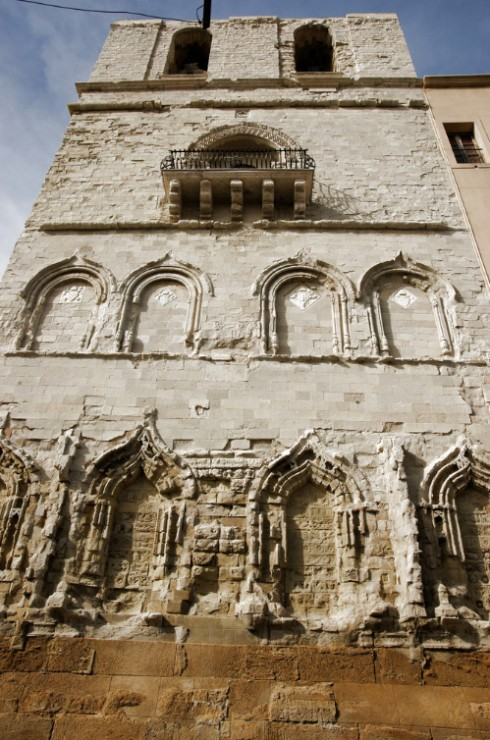 Agrigento, particolare del centro storico