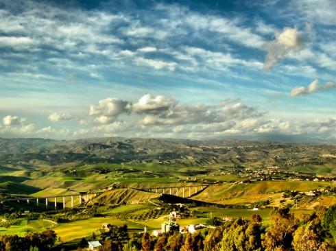 Caltanissetta, vista panoramica