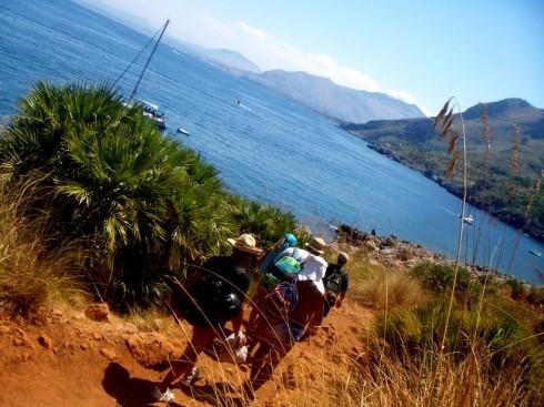 Riserva dello Zingaro, sentiero costiero