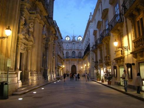Trapani, Palazzo Cavarretta dal Corso Vittorio Emanuele