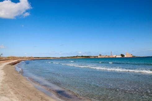 Oasi di Vendicari, spiaggia
