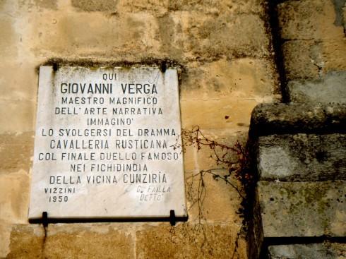Vizzini, Cavalleria Rusticana