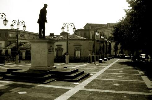 Vizzini, monumento a Giovanni Verga
