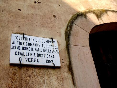 Vizzini, compare Alfio e compare Turiddu
