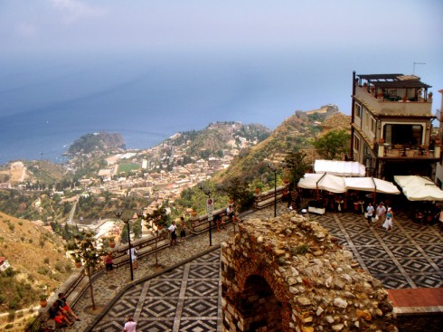 Terrazza panoramica di Castelmola