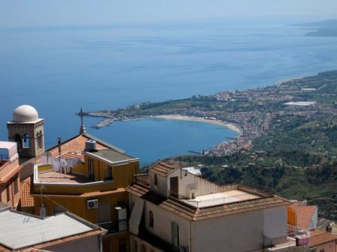Vista da Castelmola - Foto di Chadada