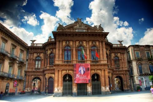 Teatro Massimo dell'opera di Catania Vincenzo Bellini - Foto di Cicciofarmaco