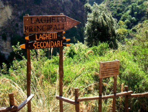 Cava Grande, laghetti principali e secondari - Foto di RedMade