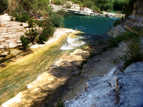 Cava Grande, cascate