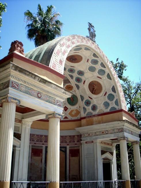 Palermo, giardini neoclassici di Villa Giulia
