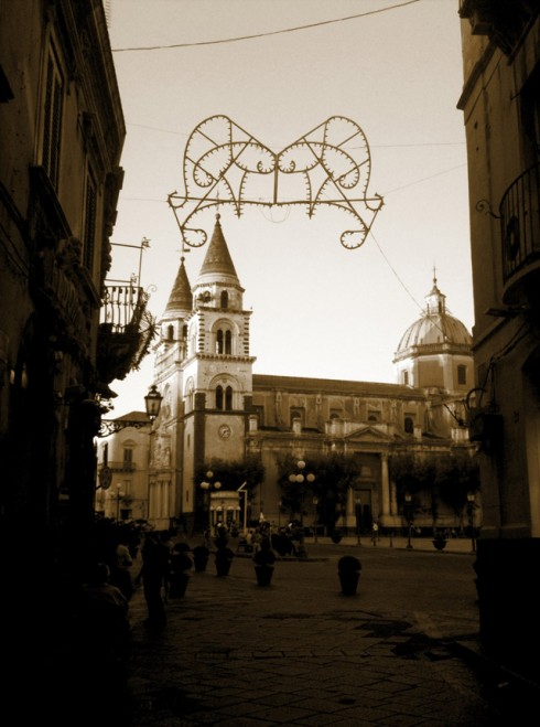 Acireale, Centro storico