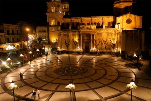 Acireale, piazza del Duomo