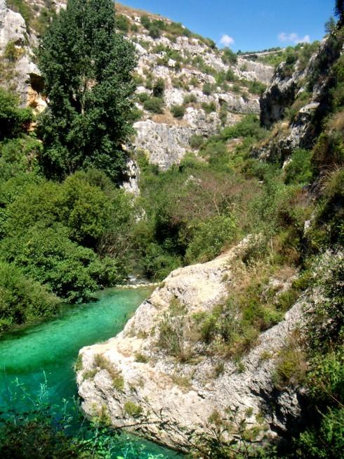 Pantalica, Torrente Cava Grande