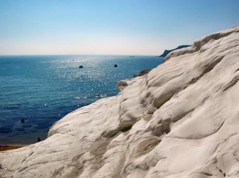 Parete rocciosa della Scala dei turchi- Foto di Giampaolo Macorig
