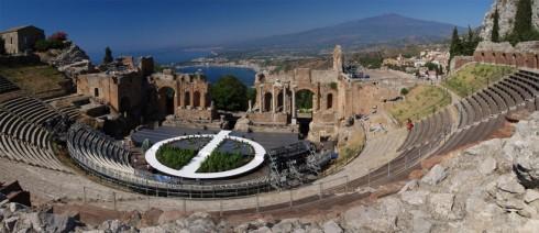 Il teatro greco-romano di Taormina - Foto di Amilioto