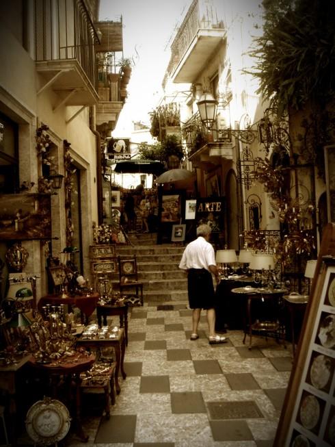 Gallerie d'arte antica a Taormina - Foto di RedMade
