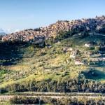 Veduta di Calascibetta