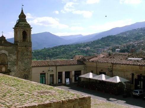 Castelbuono Veduta dal Castello