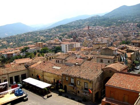 Veduta di Castelbuono